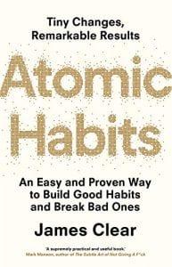 Buchcover Atomic Habits von James Clear